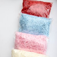 Decoration Paper Shredded Paper 20g Gift Box Filling Material Christmas Wedding Marriage Home Decoration Christmas supply 583 R2