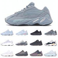 Yansıtıcı 700 Basketbol Ayakkabı Erkek Hosblu Tasarımcı Sneaker Teal Mavi Katı Gri Yardımcı Siyah Vanta Koşu Eğitmenler Erkekler Kadınlar FV8424 Statik B75571 Sneakers