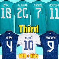 REAL MADRID jerseys 21 22 futebol futebol camisa CAMAVINGA ALABA PERIGO BENZEMA ASENSIO MODRIC MARCELO VALVERDE camiseta masculino kids kit 2021 uniformes