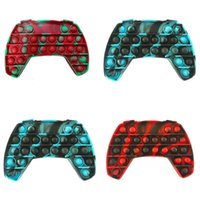 Fidget Pad Gamepads Toy Party Push Bubble Controller Hand Shank Game Controllers Joystick Finger Decompression Anxiety Toys 2829 Y2