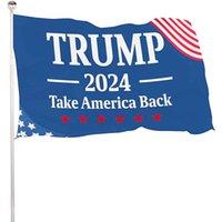 DHL Rápido entrega Trump Eleição 2024 Trump Mantenha Bandeira 90 * 150cm América Pendurado Grandes Banners 3x5ft Imprimir Digital Donald Trump Bandeira Biden