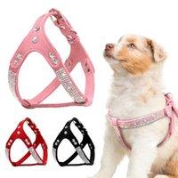 Colliers de chien Laisses en cuir doux en cuir de chiot Harnais pour animaux de compagnie chihuahua mascotas Harnais moyen pour rose petit cachorro