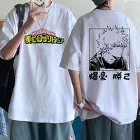 2021 My T Shirt Men ga Anime Boku No Hero Academia T-shirt 90s Unisex Tshirt Hip Hop Tee Male