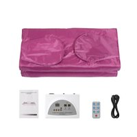 Portable Far infrared Sauna Blanket Slimming Machine Digital Thermal Acid Discharge Blankets For Body Pain Relief Shaper Slim Throw Covers