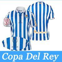 Real Sociedad Copa Del Rey Futbol jersey 21/22 David Silva Oyarzabal Futbol Formaları Camiseta De Futbol Yıldönümü Hombres Niños Erkekler Kids Kit Gömlek 19/20 Final