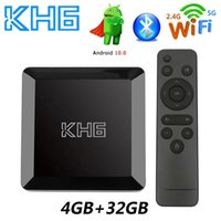 Mecool KH6 Android 10.0 TV Box Voice Assistant 4K 3D Wifi 2.4G&5.8G 4GB RAM 32G Media player Very Fast Set Top Box