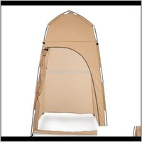 Tentes et refuges HOO PORTABLE PORTABLE DOUCHE DE DOUCHE À LA CHANGEMENT DE CHANGE DE CHANGE DE CHANGE DE CHANGE D'ATTÈME Camping Plage View Confidentialité Toilet Jeu XH67T 40Of7