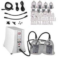 Masajeador de terapia de vacío eléctrica con tazas de vibradores para elevación de senos Aumento de nalgas Ampliación Drenaje linfático