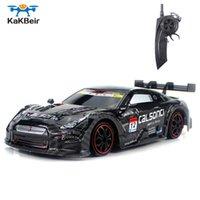 Catégorie de Kakbeir RC pour GTR / Lexus 2.4g de rabais sur la route 4WD Drift Racing Cours de voiture Championnat Voiture Véhicule Télécommande Electronic Kidby Jouets Q0726