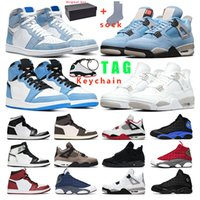 air retro jordan 1s 4s 13s Gym rot Traum It, Do It UNC LA Bred Space Jam Anthrazit 9 Sporttrainer Sneaker Größe 7-13