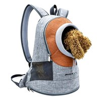 Backpack Fashion Travel For Carrying Dog Double Shoulders Bag Adjustment Small Carrier Outdoor Breathable Pet