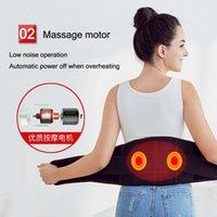 Correia de aquecimento elétrico com massageador de cintura Moxibustion Pack Massagers de massagem infravermelha de fibra infravermelha