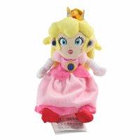 الأميرة الخوخ محشوة دمية أفخم لعبة للأطفال عيد الميلاد هالوين هدايا 20 سنتيمتر