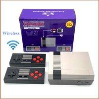 أعلى جيد الكلاسيكية التلفزيون لعبة فيديو وحدة التحكم 620 ألعاب الرجعية فيديو لعبة وحدة 2.4 جرام لاسلكي تحكم الرجعية الكلاسيكية لعبة هدية