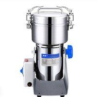 Molillas de café eléctricas 800g Tipo de columpio Grinder Granos Especias Cereales Molino seco Máquina de molienda Casa Harina Polvo Trituradora
