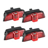 Car Headlights 4X For Door Lights LED Projector Ghost Shadow Fit W204 2008-2013