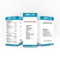Metri Urs 10t 100pcs portatile accurato sano sano facile da usare pH strisce acidi livelli di urina metro alcalino controller di test alcalino casa