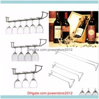 Ice Buckets And Coolers Barware Kitchen, Dining Home & Gardenchampagne Stemware Holder Chrome Plated Wine Rack Glass Cup Kitchen Wall Bar Ha