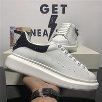 Hombres de alta calidad para hombres diseñadores zapatos 3M zapatillas de deporte reflectantes moda mujeres de cuero genuino Velas Velas plataformas al aire libre Tamaño casual 36-45