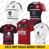 2022 Neue Toulouse Rugby Jerseys League Jersey Nationalmannschaft 2021 Freizeit Sport Lentulus Shirts Größe S-5XL