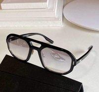 Black Ruthenium Mirror Sunglasses 13 Shades Des Lunettes De Soleil Mens Fashion Sun Glasses with Box