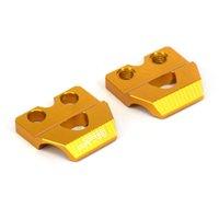 RM85 RMZ250 RMZ450 RMX450ZゴールドのためのCNCブレーキラインホースクランプホルダー