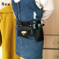New Arrivals top quality Two-piece Womens Belt Bag Luxury Designer Tactical Waist Bags Female Leather Flap Fanny Pack Shoulder