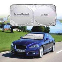 Auto Vordere Heckscheibe Visier Windschutzscheibe Blockabdeckung Sonnenschutz UV-Schutz für Jaguar XJ XF XE-Serie Auto Emblem Sunshade Blind