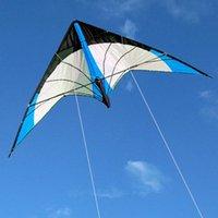 في الهواء الطلق الرياضة في الهواء الطلق 48/72 بوصة الخط المزدوج حيلة الطائرات الورقية للبالغين pwoer طائرة ورقية مع مقبض وخط طيران جيدة