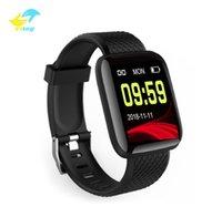Vitog 116 plus Smart Armband Farbbildschirm Sport Fitness Armband Blutdruckuhren Schrittzähler Banduhr