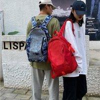 Unisex Teenager Travel Backpack Large Capacity Versatile Utility Mountaineering Waterproof Luggage Outdoor Gridding Shoulder Bag