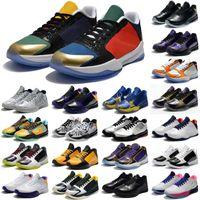 أحذية كرة السلة الرياضية الكلاسيكية مامبا 5 الخامس 4 بروتيا مسمار اليوم هورنتز كارب ديل سول رجل ZK4 4S أحذية رياضية 40-46