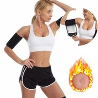 Women's Shapers Women Arms Sweat Bands Arm Thigh Trimmer Wrap Sculpt Compression Sauna Sleeve Workout Slimming Shaper