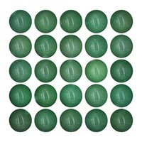 25pcs 16mm Natural crystal Round Stone Bead Loose Gemstone DIY Smooth Beads for Bracelet Necklace Earrings Jewelry Making