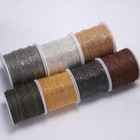 Ohrringe Halskette 5 m / lot Gold / Bronze Überzogene Kette für Schmuckherstellung DIY Ketten Materialien Handgemachte Lieferungen