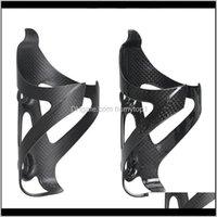Garrafas gaiolas de fibra de carbono bicicleta gaiola mtb estrada bike garrafa suporte ultra luz acessórios de ciclismo d89wb qk2zi