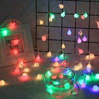 LED Globe String Lights Lamps for Indoor Outdoor Wedding Birthday Party Garden Bedroom Wall Decorations Strip crestech
