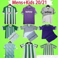 Man + bambini 20 21 Real Betis Football Jersey Joaquin Loren Boudebouz Bartra Casa Away 3rd Canales Edition Fekir Retro Camicia da calcio vintage