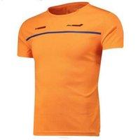 2021 موسم F1 F1 Formula One Racing Holding Car Team Team Clothing BLASEEVED T-Shirt يمكن تخصيصها