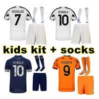 19 20 Kinder Kit Fussball Jersey 2019 2020 Kinderfußball-Hemd-Uniform
