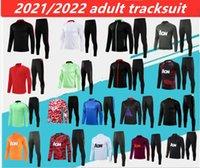2021/2022 Cavani B. Fernandes Chester Training Suit.S-3XL Männer Trainingsanzug Martial Football Sportswear Foot Jogging Pogba Soccer Top Qualität.