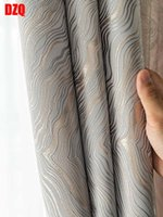 Curtain & Drapes 2021 Style Curtains Luxury Modern Blackout For Living Room Simple Striped Pattern Window Bedroom