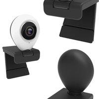 Webcam-Videokonferenzkamera Weitwinkel mit Mikrofonabdeckung und Ringlicht-PC-IP-Kameras