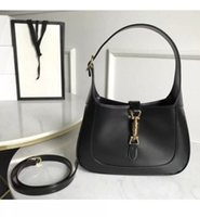 2021 Jackie Luxury Designer New 1961 Underarm Bag with Buckle and One Shoulder Straddling Mini Leather Handbag for Womentop Quality zym