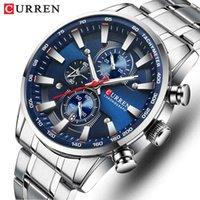 Designer relógio marca relógios de luxo relógio de quartzo homens esporte impermeável pulso cronógrafo data relogio masculino