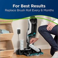 Vacuum Cleaners Promotion!2 Pcs Multi-Surface Pet Brush Roll For Crosswave Cordless Max Series Cleaner,Suitable 2765 2554