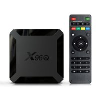 X96Q Android 10.0 TV Box IP X96 Q 1G 8G 2G 16G Allwinner H313 Smart IP Set TopBox X96Q AndroidTVBox