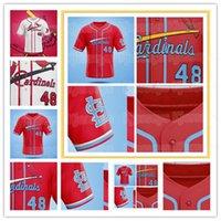 Cardinal Concept Jerseys 28 Nolan Arenado Jersey St Louis Custom Beisebol Paul Goldschmidt Camisas Yadier Molina Ozzie Smith Dexter Fowler Matt Carpinteiro