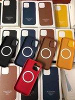 Custodia per cellulari in pelle PU Custodia ufficiale in pelle per iPhone 13 12mini 12 Pro Max Magsafe Funzione Top Quality