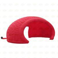 Tampa vermelha personalizada da fase inflável Barraca da barraca da barraca do disco da abóbada da abóbada da abóbada da abóbada da abóbada da dome